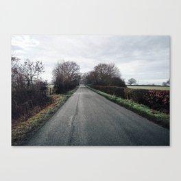 derbyshire country lane Canvas Print