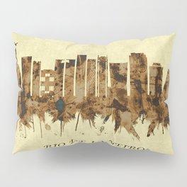 Rio de Janeiro Brazil Cityscape Pillow Sham