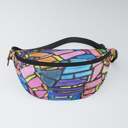 Stained Glass Montage Fanny Pack