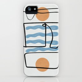 Twice the orange. Twice the sunset   iPhone Case