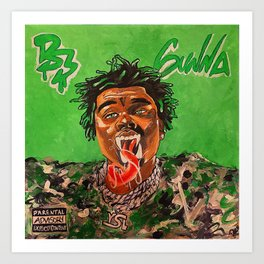 gunna,ds3,drip season 3,rapper,album,poster,wall art,fan art,music,hiphop,rap,rapper Kunstdrucke