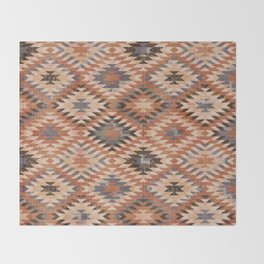Arizona Southwestern Tribal Print Throw Blanket