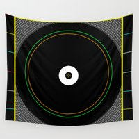 reggae Wall Tapestries featuring African Reggae by  Cristina Lobo