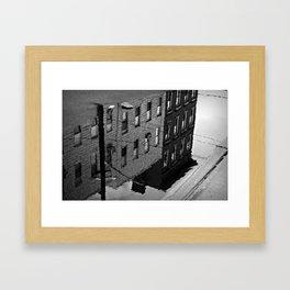 Reflections of Hoboken Framed Art Print
