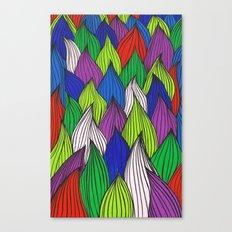 Dancin onions Canvas Print