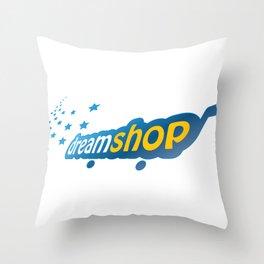 Dream Shop Throw Pillow