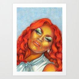 The Olivia Lux Art Print