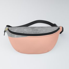 Geometry 101 Sweet Peach Pink Fanny Pack