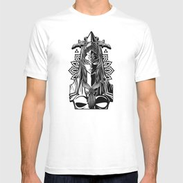 Legend of Zelda Midna the Twilight Princess Line Work T-shirt