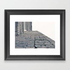 Cliffhanger Framed Art Print