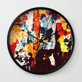 A Mosaic Wall Clock