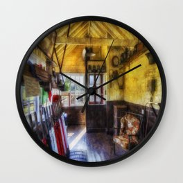 Olde Signal Box Wall Clock