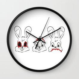 see.hear.speak Wall Clock