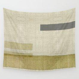 """""""Burlap Texture Natural Shades"""" Wall Tapestry"""