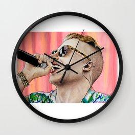 Macklemore Wall Clock