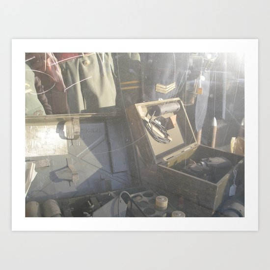 Time Marches On Art Print