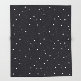 stars pattern Throw Blanket