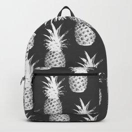 Pineapple Pattern - Dark Grey Backpack