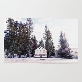 Tiny Cottage in the Middle of Banff Rug