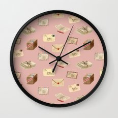 Vintage Mail Wall Clock