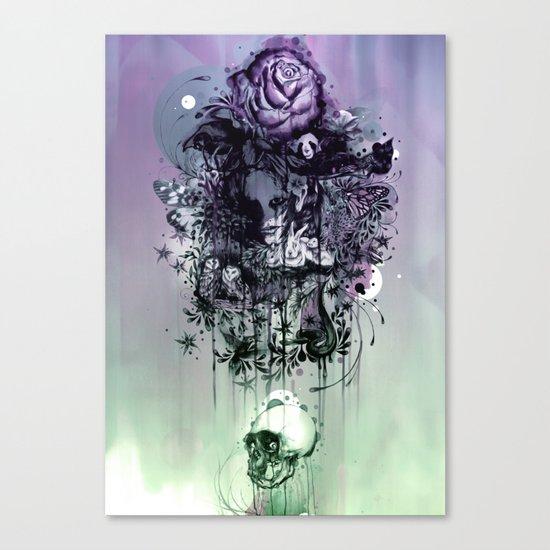 Doom and Bloom Canvas Print