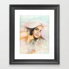 Purr Kitty Purr Framed Art Print