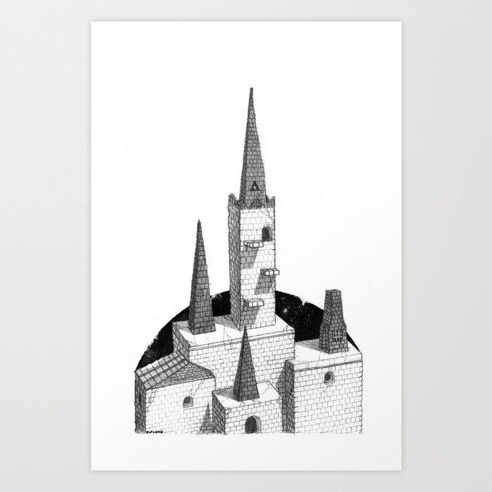 Hyrule Castle  Art Print