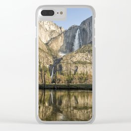 Yosemite Falls on View Clear iPhone Case