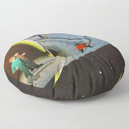 Saturn's Rink Floor Pillow