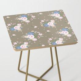 Heirloom Rose - Raw Umber Side Table