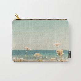 Water and Lace Carry-All Pouch