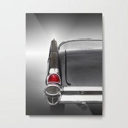 US American classic car 1957 Bel Air Metal Print