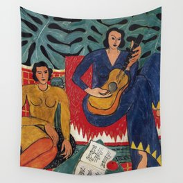 Henri Matisse - Music - Exhibition Poster Wall Tapestry