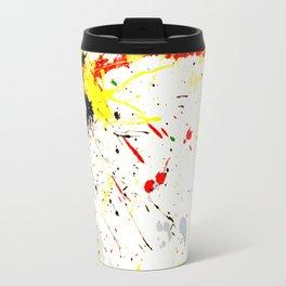Paint Splatter Travel Mug