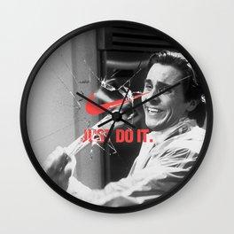 Fake Ad #1 Wall Clock