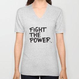 Fight the Power Unisex V-Neck