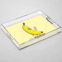 The Banana Skater Acrylic Tray