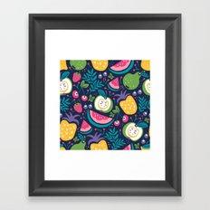 Hello Fruity Framed Art Print