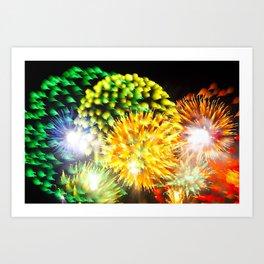 Efflorescence 11 Art Print
