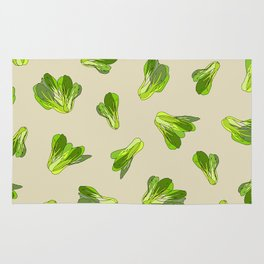 Bok Choy Vegetable Rug