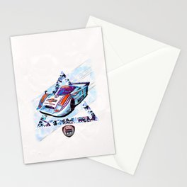 "Lancia LC2 ""Lancia-Ferrari""// Le Mans Race Cars Stationery Cards"