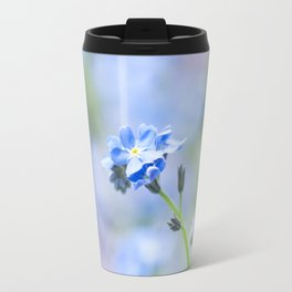 Forget-me-not in LOVE - Springflower Flowers Floral on #Society6 Travel Mug