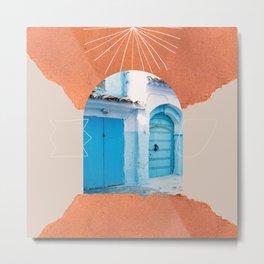 The Moroccan entrance III Metal Print