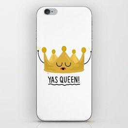 Yas Queen iPhone Skin