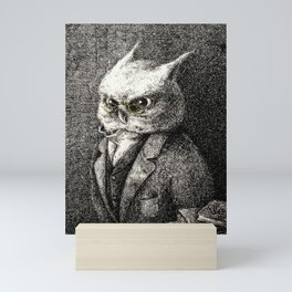 A Serious Hoot Mini Art Print