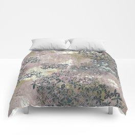 Pink Texture Comforters