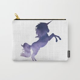 Galaxy  background unicorn illustration decor Carry-All Pouch