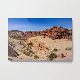 Coat-of-Many-Colors 0969 - Valley of Fire State Park, Nevada Metal Print
