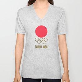1964 Summer Olympics Tokyo Unisex V-Neck