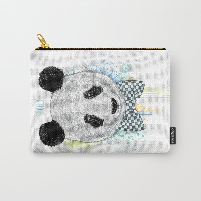Hello Panda Carry-All Pouch